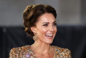 Kate Middleton étincelante de beauté pour l'avant-première de James Bond