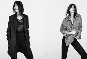 On peut s'offrir le style de Charlotte Gainsbourg chez Zara