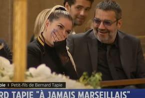 Obsèques de Bernard Tapie: Discours émouvant de son petit-fils, Larmes de Borloo...