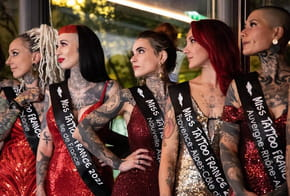 Miss Tattoo France 2021: le sacre d'Olivia, Miss Auvergne-Rhône-Alpes