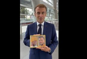 Macron relève le défi de McFly et Carlito dans ses voeux de rentrée