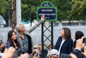 Hommage à Johnny Hallyday: Statue, Esplanade inaugurée, Bar dédié, Concert...